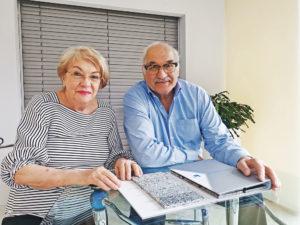 Paula und Karl Enz, Geschäftsführung